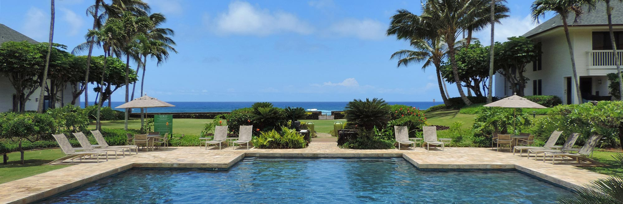 Poipu Kapili 22 pool ocean view